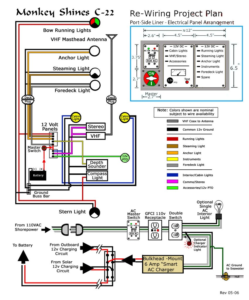 C22 Electrical Schematics Boat Running Light Wiring Diagram Click Here To Enlarge